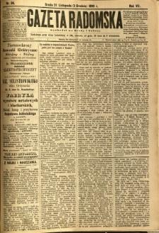 Gazeta Radomska, 1890, R. 7, nr 96