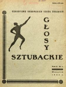 Głosy Sztubackie, 1935, R. 2, nr 1