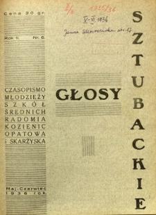 Głosy Sztubackie, 1936, R. 2, nr 6