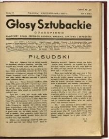 Głosy Sztubackie, 1937, R. 3, nr 5