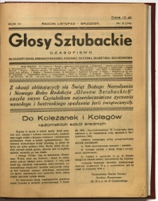 Głosy Sztubackie, 1937, R. 4, nr 2