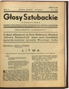 Głosy Sztubackie, 1938, R. 4, nr 4