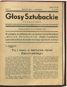 Głosy Sztubackie, 1938, R. 4, nr 5