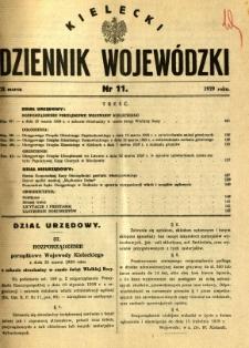 Kielecki Dziennik Wojewódzki, 1929, nr 11