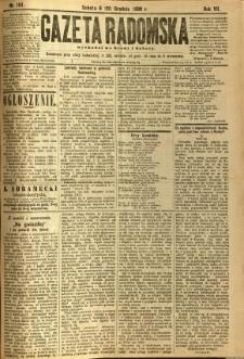 Gazeta Radomska, 1890, R. 7, nr 101
