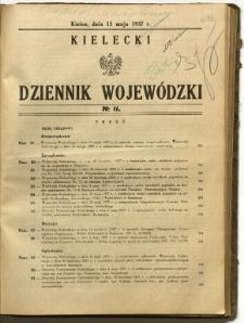 Kielecki Dziennik Wojewódzki, 1937, nr 11