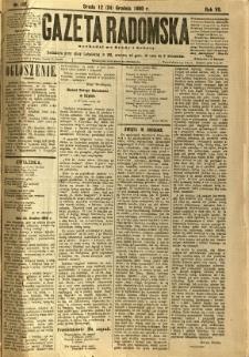 Gazeta Radomska, 1890, R. 7, nr 102