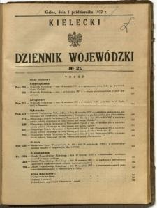 Kielecki Dziennik Wojewódzki, 1937, nr 21