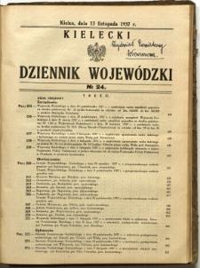 Kielecki Dziennik Wojewódzki, 1937, nr 24
