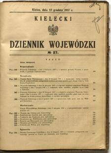 Kielecki Dziennik Wojewódzki, 1937, nr 27