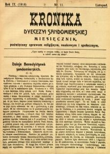 Kronika Diecezji Sandomierskiej, 1916, R. 9, nr 11