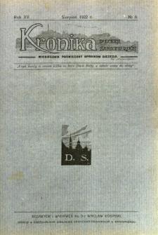 Kronika Diecezji Sandomierskiej, 1922, R. 15, nr 8