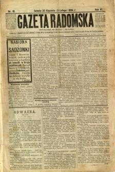Gazeta Radomska, 1894, R. 11, nr 10