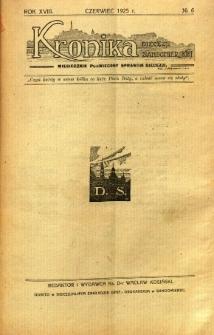 Kronika Diecezji Sandomierskiej, 1925, R. 18, nr 6