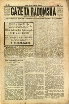 Gazeta Radomska, 1894, R. 11, nr 13