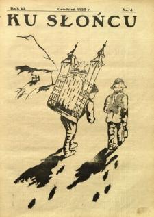 Ku Słońcu, 1927, R. 3, nr 4