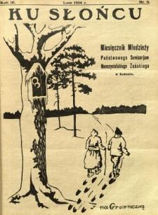 Ku Słońcu, 1928, R. 3, nr 6