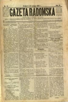 Gazeta Radomska, 1894, R. 11, nr 15