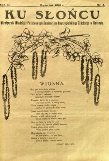 Ku Słońcu, 1928, R. 3, nr 8