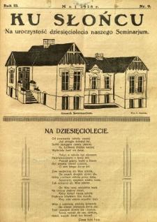 Ku Słońcu, 1928, R. 3, nr 9
