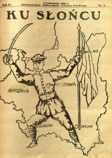 Ku Słońcu, 1928, R. 4, nr 3