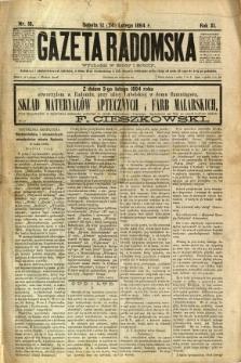 Gazeta Radomska, 1894, R. 11, nr 16