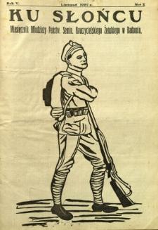 Ku Słońcu, 1929, R. 5, nr 2