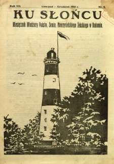 Ku Słońcu, 1931, R. 7, nr 2