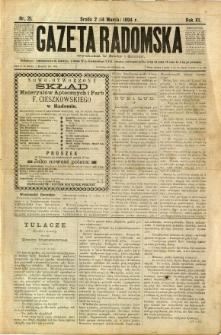 Gazeta Radomska, 1894, R. 11, nr 21