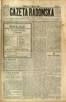 Gazeta Radomska, 1894, R. 11, nr 22