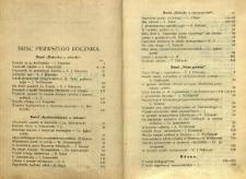Nasze Drogi, 1927, R. 1 - Treść pierwszego rocznika