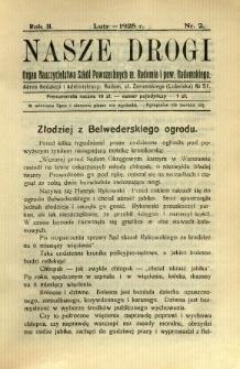 Nasze Drogi, 1928, R. 2, nr 2