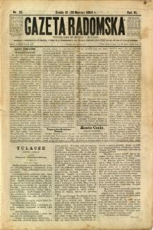 Gazeta Radomska, 1894, R. 11, nr 25