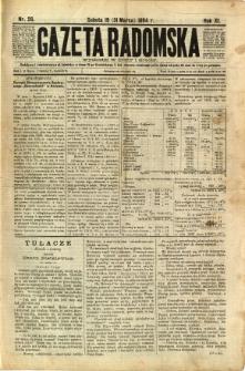 Gazeta Radomska, 1894, R. 11, nr 26
