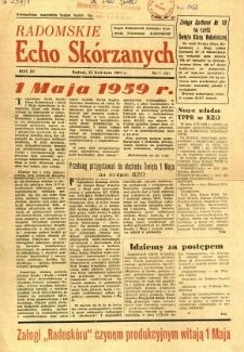Radomskie Echo Skórzanych, 1959, R. 4, nr 7