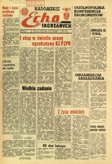 Radomskie Echo Skórzanych, 1967, R. 12, nr 6