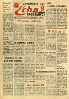 Radomskie Echo Skórzanych, 1967, R. 12, nr 16