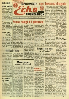 Radomskie Echo Skórzanych, 1967, R. 12, nr 22