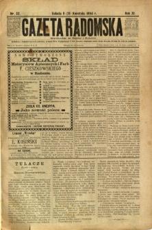 Gazeta Radomska, 1894, R. 11, nr 32