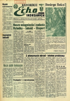 Radomskie Echo Skórzanych, 1967, R. 12, nr 35