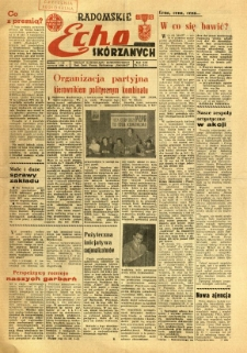 Radomskie Echo Skórzanych, 1968, R. 13, nr 16