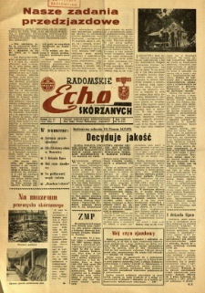 Radomskie Echo Skórzanych, 1968, R. 13, nr 20