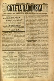 Gazeta Radomska, 1894, R. 11, nr 35