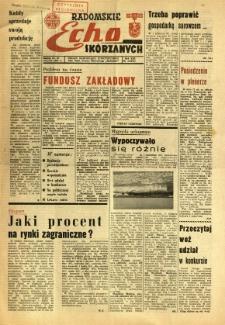 Radomskie Echo Skórzanych, 1968, R. 13, nr 22