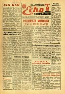 Radomskie Echo Skórzanych, 1968, R. 13, nr 28