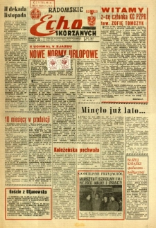Radomskie Echo Skórzanych, 1968, R. 13, nr 32