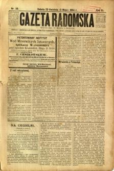 Gazeta Radomska, 1894, R. 11, nr 36