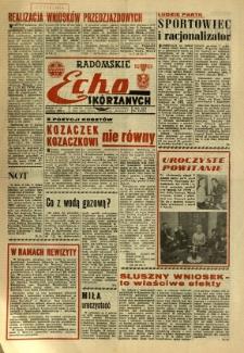 Radomskie Echo Skórzanych, 1968, R. 13, nr 33
