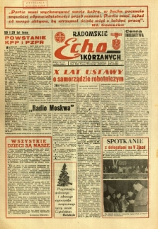 Radomskie Echo Skórzanych, 1968, R. 13, nr 34