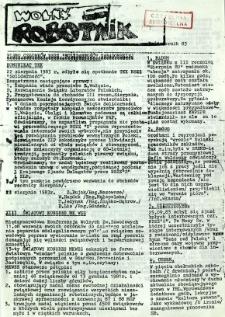 Wolny Robotnik, 1983, pażdziernik
